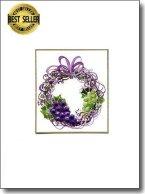 Grape Wreath image