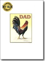 Happy Father's Day Rooster image