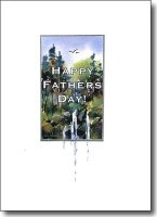 happy father's day waterfall image