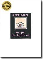 Keep Calm And Put The Kettle On spiritual card