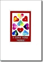 Nine Hearts I Love You More image