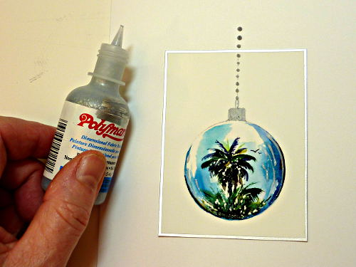 fabric paint, create greeting cards