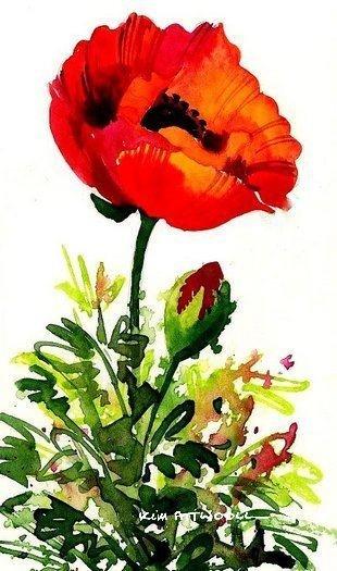 poppy, inkjet paper
