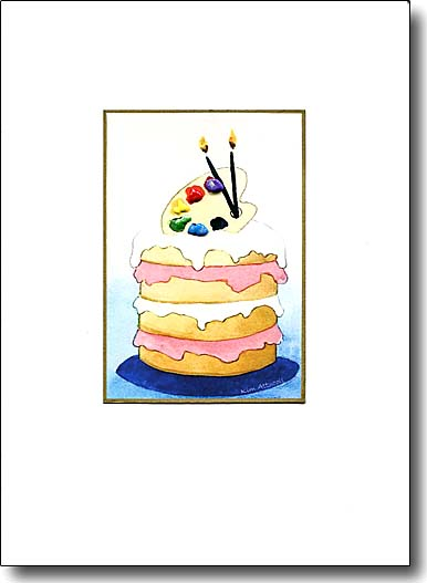 Artist's Cake image