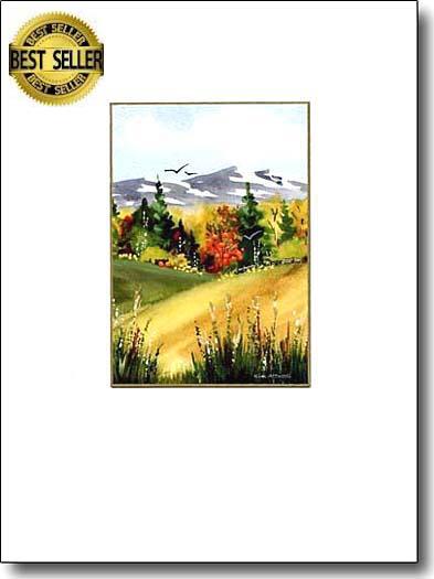 Mountains in Autumn image