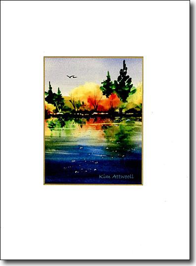 Autumn Reflection image