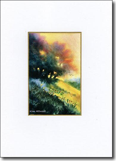Backlit Trees image