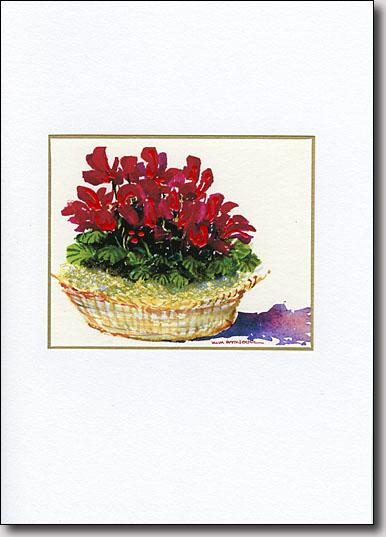 Basket of Cyclamen image
