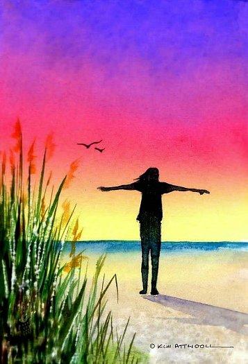 beach breezes image