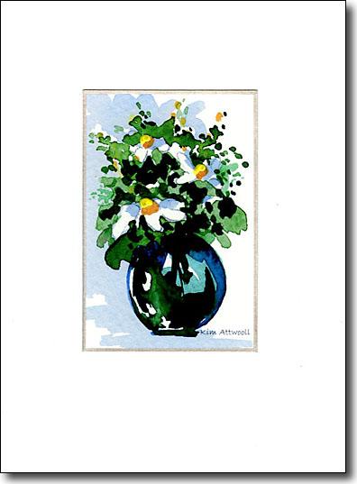 Bowl of Daisies image