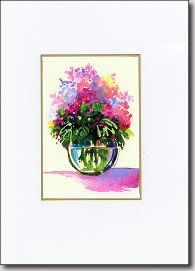 Bowl of Lilacs image
