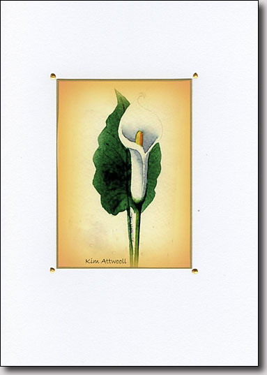 Calla on Gold image