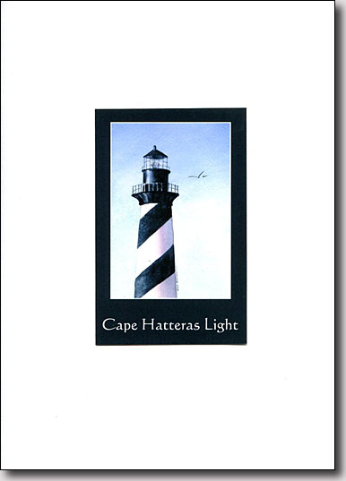 Cape Hatteras Lighthouse in Black image