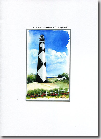 Cape Lookout Lighthouse image