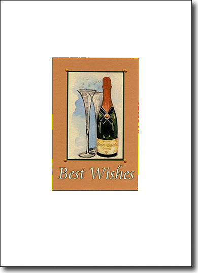 Champagne Best Wishes image