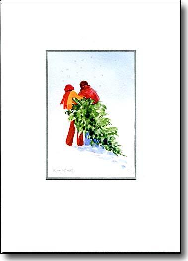 Christmas Tree Couple image
