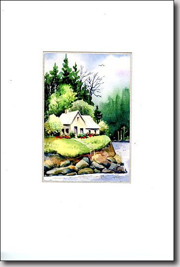 Cottage by the Water image