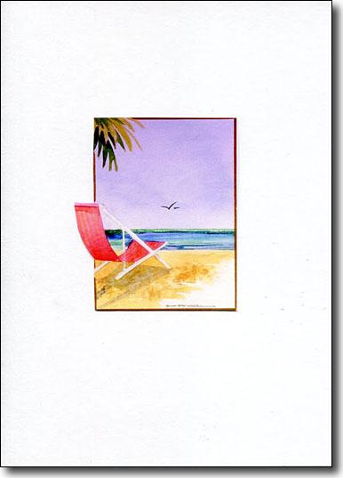 Cut Out Beach Chair image