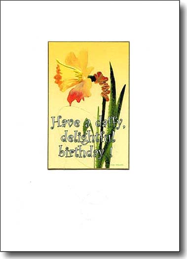 Have A Daffy Delightful Birthday image