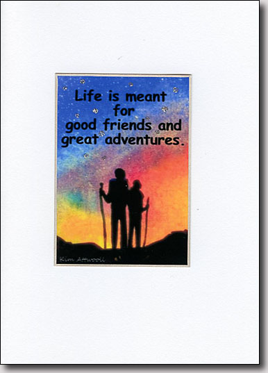 Evening Hikers' Quote image