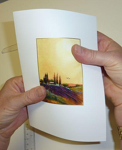 making a handmade card