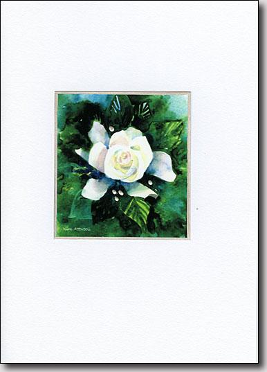 Gardenia on Green image