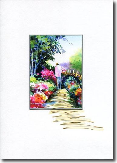garden path image