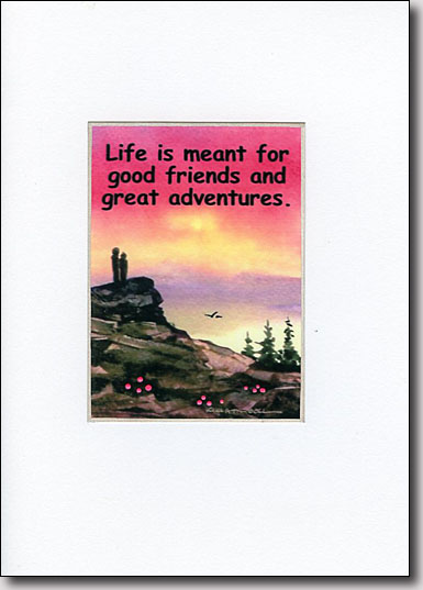 Grandfather Mountain Adventure Quote image