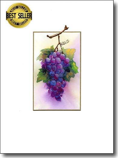 grapes fruit-greeting-cards image