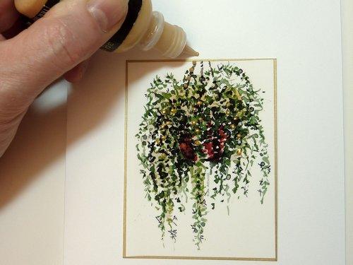 watercolor lessons, handmade card making