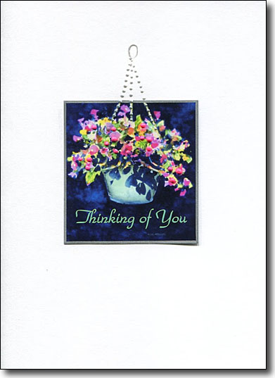 hanging flowers image