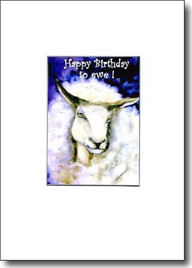 Happy Birthday To Ewe image