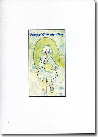 happy mommie's day card