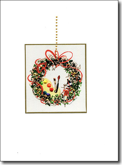 Holiday Artist's Wreath image