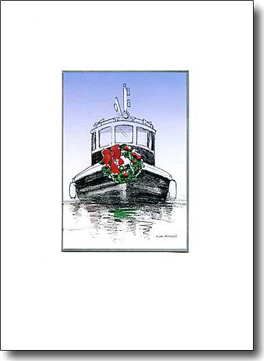 Holiday Tugboat image