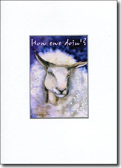 how ewe doin' card