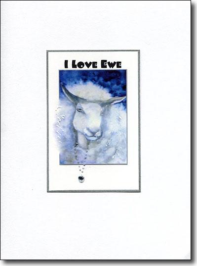 i love ewe image