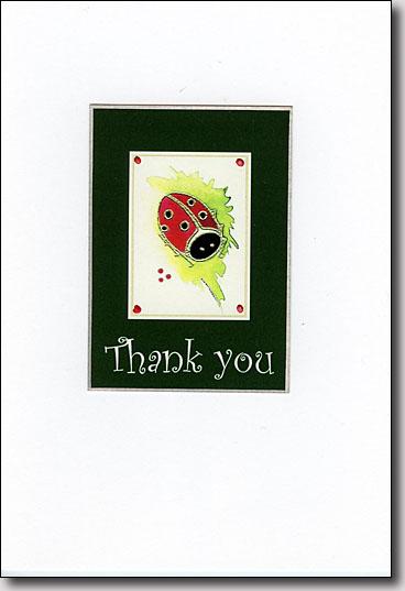 Lady Bug Thank You image