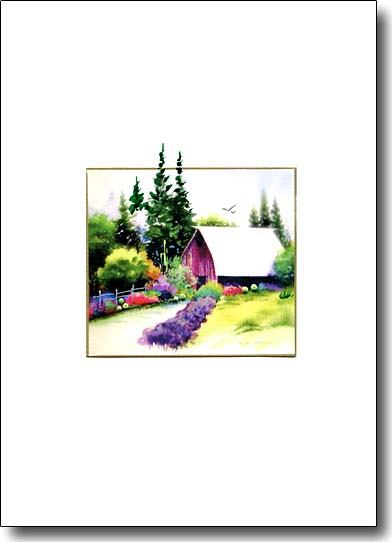 lavender and barn image