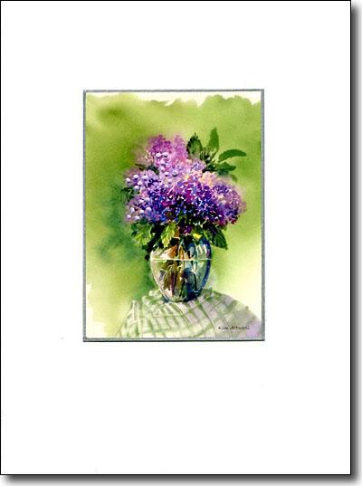 Lilacs In Vase image