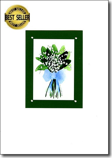 Lily of the Valley in Green image