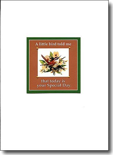 Little Bird Card image