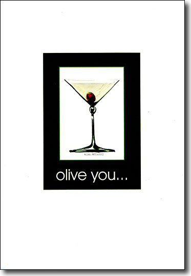 Martini - Olive You image