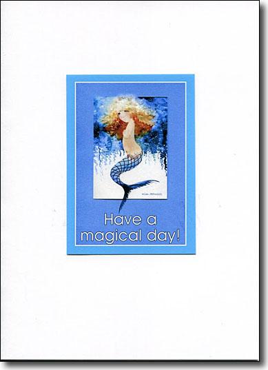 Mermaid Happy Birthday image