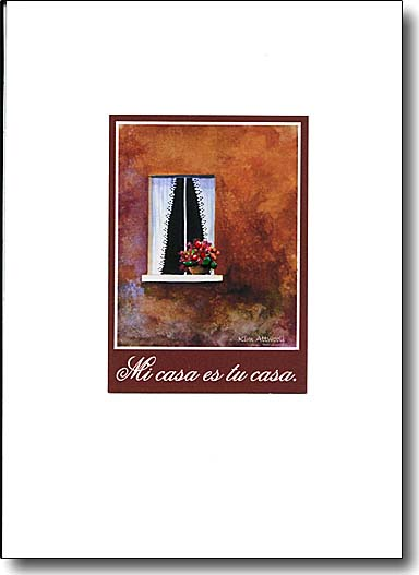 Spiritual greeting cards will inspire both sender and receiver for Tu casa es mi casa online