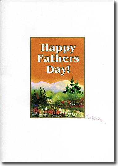 Happy Father's Day in the Mountains image