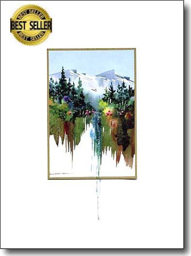 Mountain Waterfall image