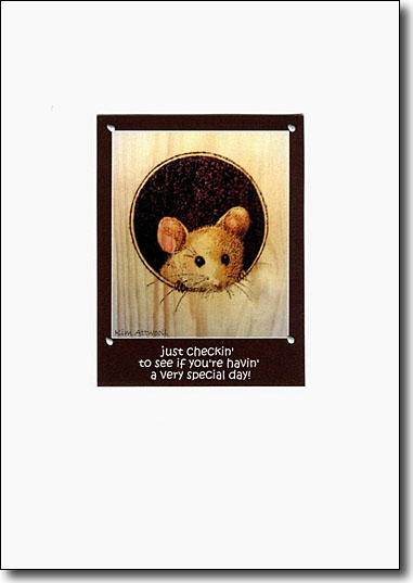 Mouse Happy Birthday image