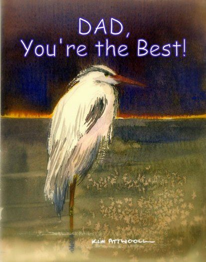 night heron image, free printable greeting cards