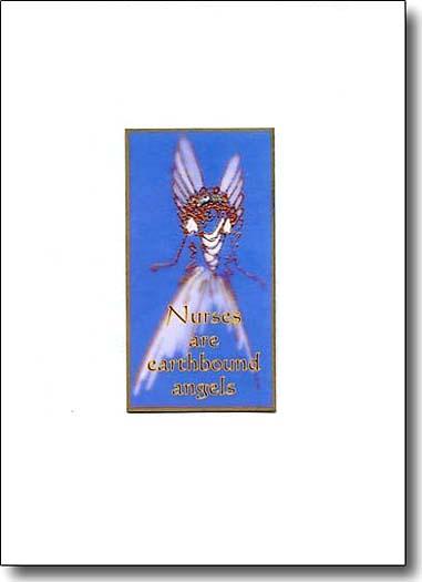 Nurses Are Earthbound Angels image